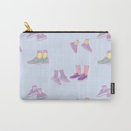 Pastel Walking Sneakers Carry-All Pouch