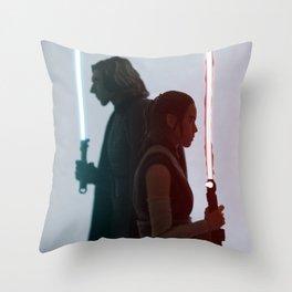Half of the same protagonist Throw Pillow