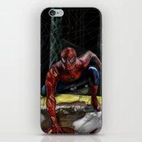 comic book iPhone & iPod Skins featuring comic by Fila Venom Art