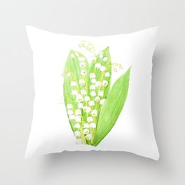 lily in the valley 2020 Throw Pillow