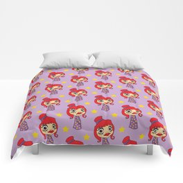 Japanese doll Comforters