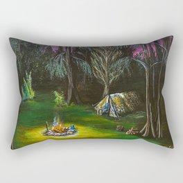 Just Camping Rectangular Pillow