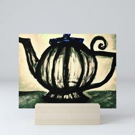 (Kettle of Black, Kettle of Glass) Teapot Mini Art Print