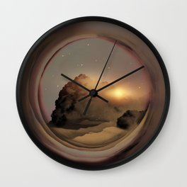 Full Circle Portal I Wall Clock