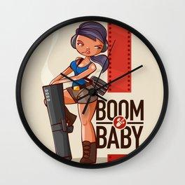 Boom Beach Fan Art - Zooka Wall Clock