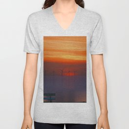 Relax (Digital Art) Unisex V-Neck