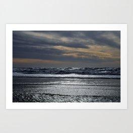 El Segundo Beach Sunset Art Print