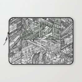 The Town of Train 3 Laptop Sleeve