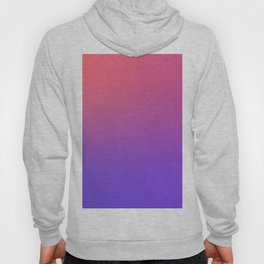 HALLOWEEN CANDY - Minimal Plain Soft Mood Color Blend Prints Hoody