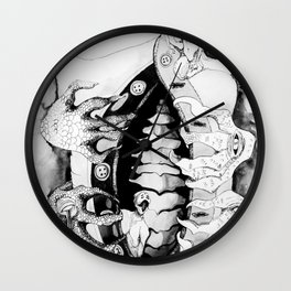 The Back Wall Clock