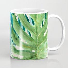 Rainforest Canopy Tropical Leaves Coffee Mug