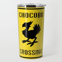 FINAL FANTASY: WARNING, CHOCOBO CROSSING Travel Mug
