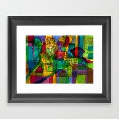 Bojhow Framed Art Print