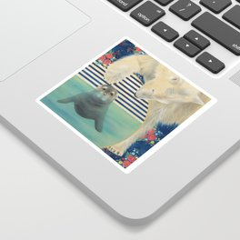 Polar Plunge Sticker