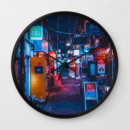 Golden Gai Wall Clock