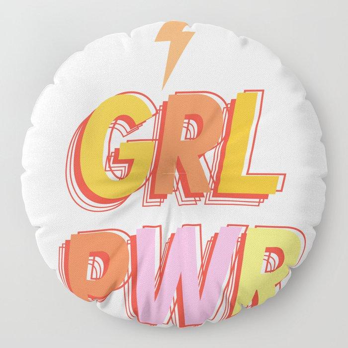 GRL PWR - GIRL POWER Floor Pillow