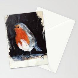 Robin Wild UK Garden Bird Acrylics On Paper Stationery Cards
