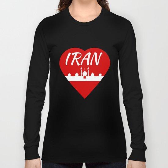 Iran Long Sleeve T-shirt