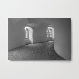 Copenhagen Round Tower 4 Metal Print