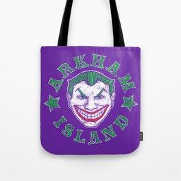 Arkham Island Tote Bag
