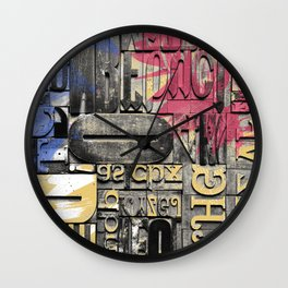 The forgotten Word Wall Clock