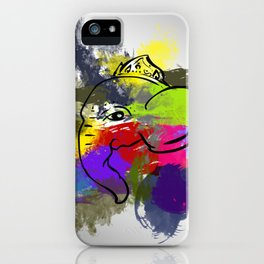 Obstacle Breaker iPhone Case