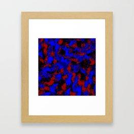 Pop Art Fluid Abstract 58 Framed Art Print