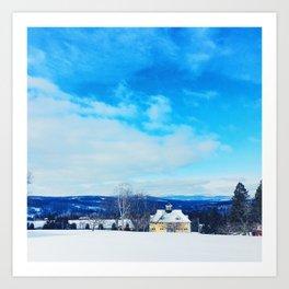 Vermont Winter Art Print