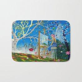 Fairy Artist Bath Mat