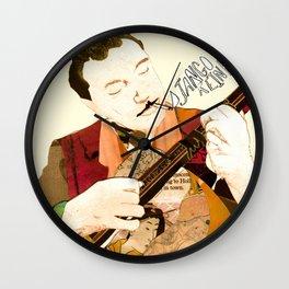 Django Reinhardt Wall Clock