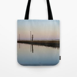 Looking out to Lindisfarne Tote Bag