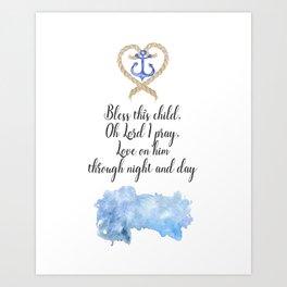 Nautical Nursery Art Print
