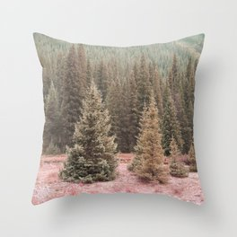 Look For Me In The Trees Throw Pillow