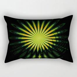 Exoticana flower, marijuana flower, abstract flower. Rectangular Pillow