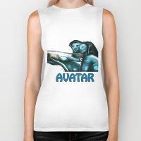 avatar Biker Tanks featuring Avatar by Dano77