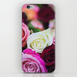 Colorful Roses iPhone Skin