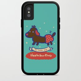 Little baby dog iPhone Case