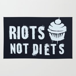 Riots Not Diets Rug