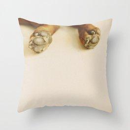 Pawlicious Throw Pillow