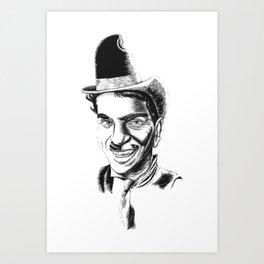 The Comedians Art Print