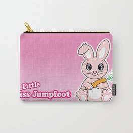 Little Miss Jumpfoot Carry-All Pouch