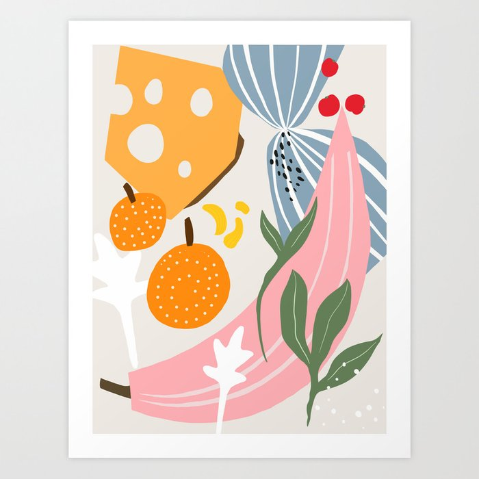 1975 kitchen Art Print