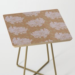 Chrysanthemums and Paisley 2 Side Table