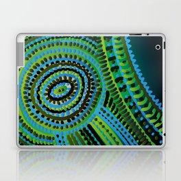 turquoise circus Laptop & iPad Skin