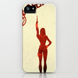 Black Widow iPhone Case