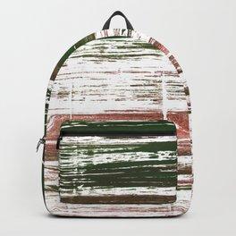 Kombu green abstract watercolor Backpack