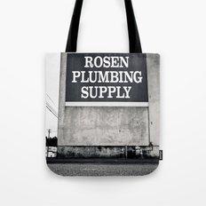 Rosen Plumbing Supply Tote Bag
