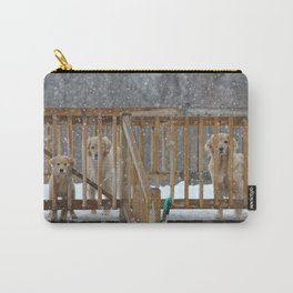 Gorgeous Golden Retrievers Carry-All Pouch