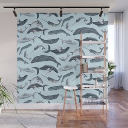 whale tales Wall Mural