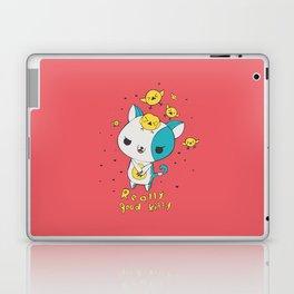 Really Good Kitty Laptop & iPad Skin